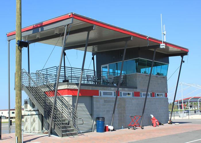 NOLA Motorsports Park, Control Building