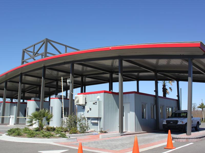 NOLA Motorsports Park, Entrance/Security Building